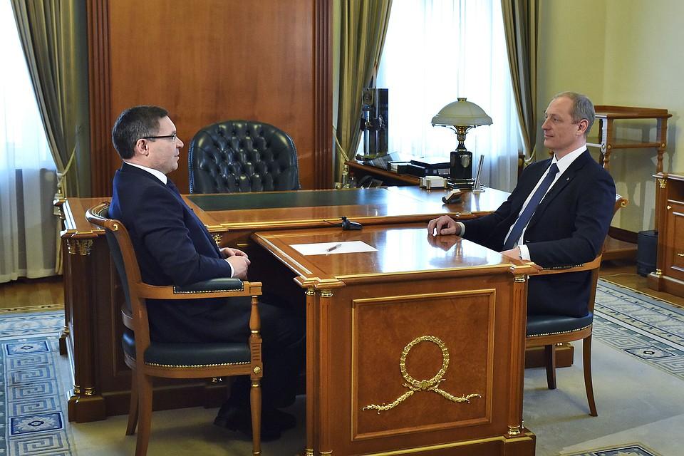 Победителю конкурса Лидер России тюменский губернатор предложил возглавить агропромышленную лизинговую компанию