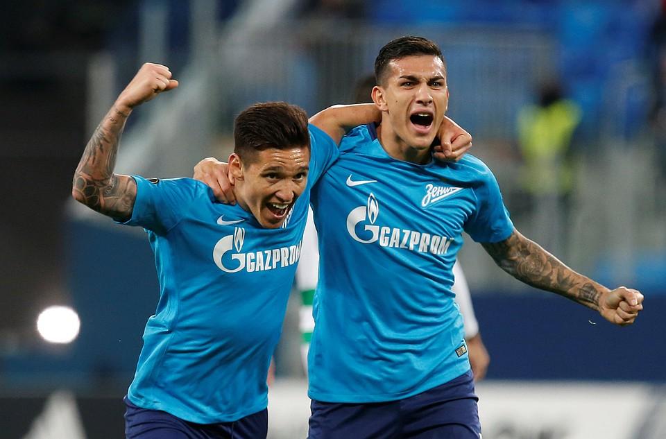 ЦСКА, «Локомотив» и«Зенит» узнали собственных соперников вЛиге Европы