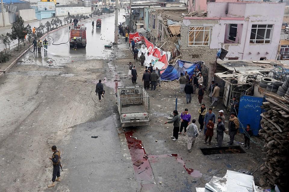 Смертник подорвал себя врайоне PD9— Теракт вКабуле