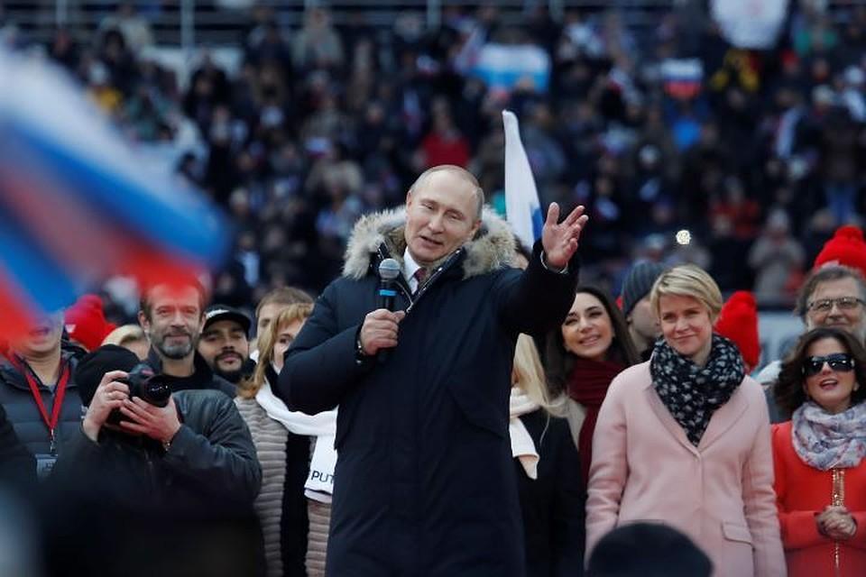 В российской столице пройдет митинг-концерт вподдержку кандидата впрезиденты Путина