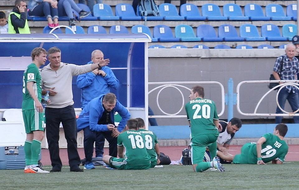 «Шинник» и«Томь» надвоих забили шесть мячей