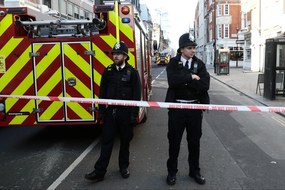 Насевере Лондона произошел взрыв