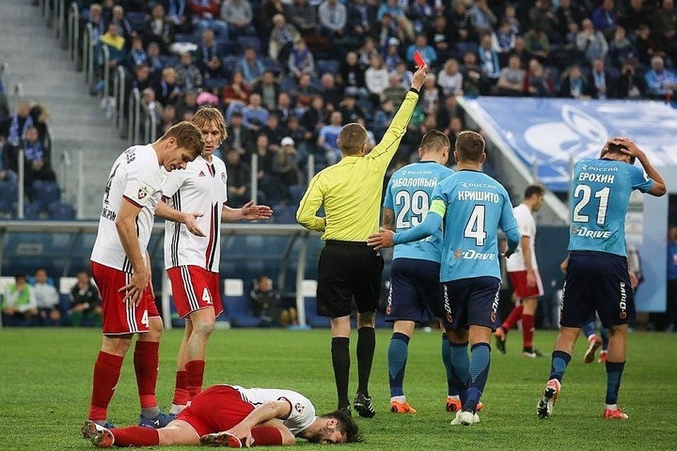 КДК оставил без изменения результат матча «Амкара» и«Зенита»
