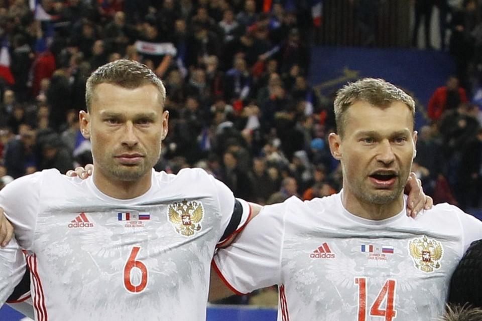 Братья Березуцкие больше не будут играть за сборную России по футболу.