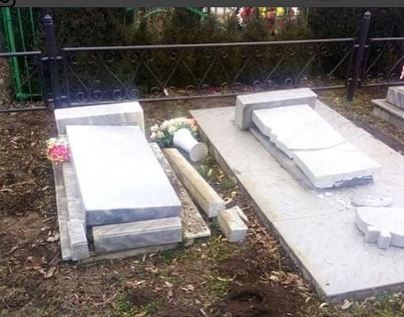 ВТимашевском районе вандалы разрушили 29 надгробий накладбище