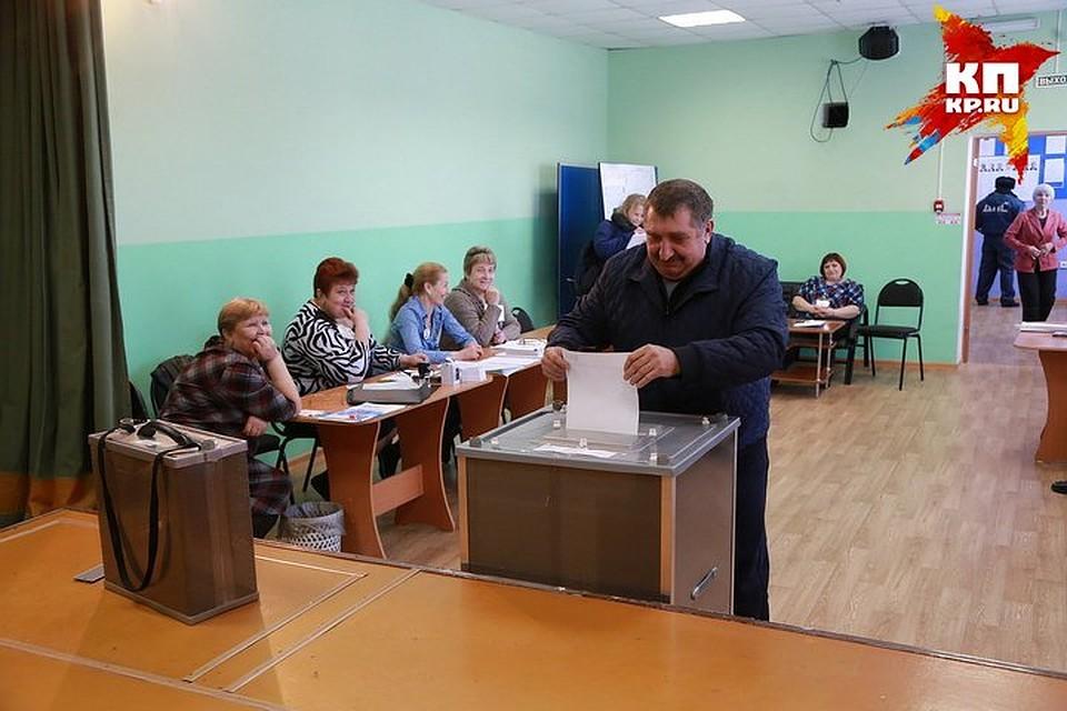 ВКрасноярском крае к10 утра проголосовали 8,74% избирателей