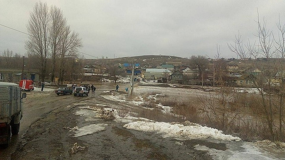 На трассах врайонах Волгоградской области сражаются спереливами