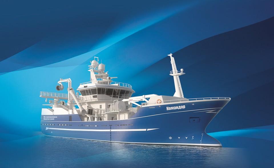 Первый траулер-сейнер «Ленинец» для камчатских рыбаков передадут в сентябре