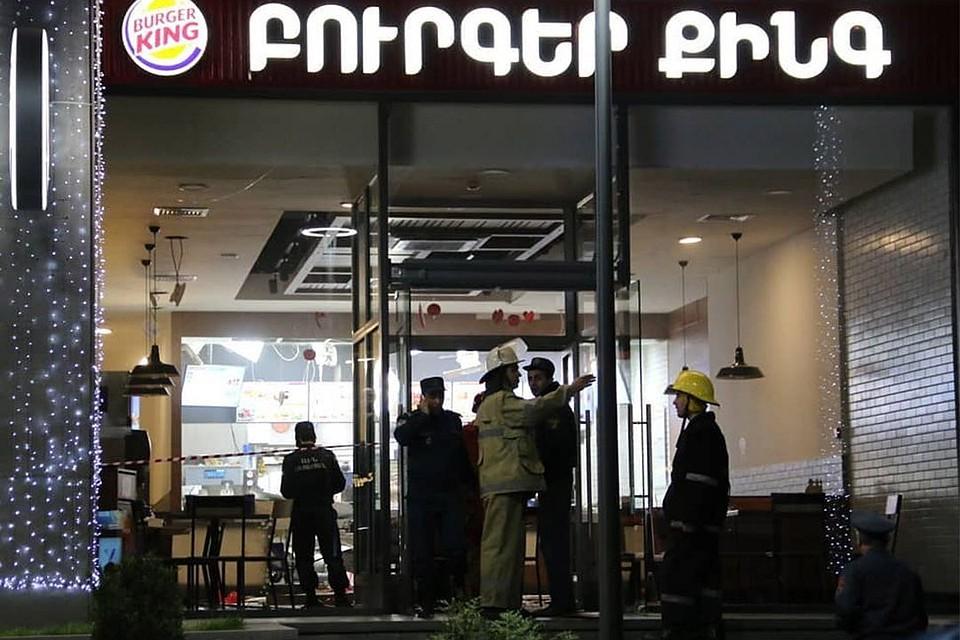 Выписаны из клиники пострадавшие при взрыве вцентре Еревана
