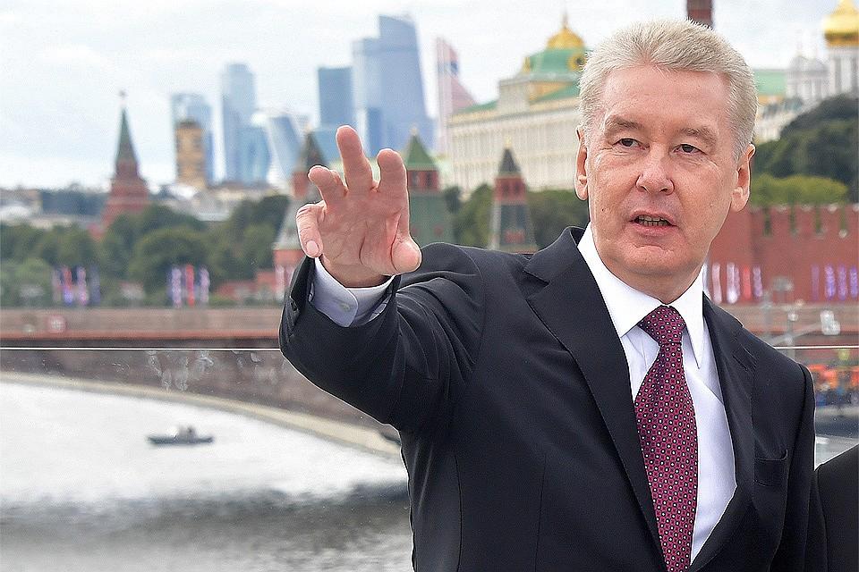 Мэр столицы отчитался оработе Большой кольцевой линии
