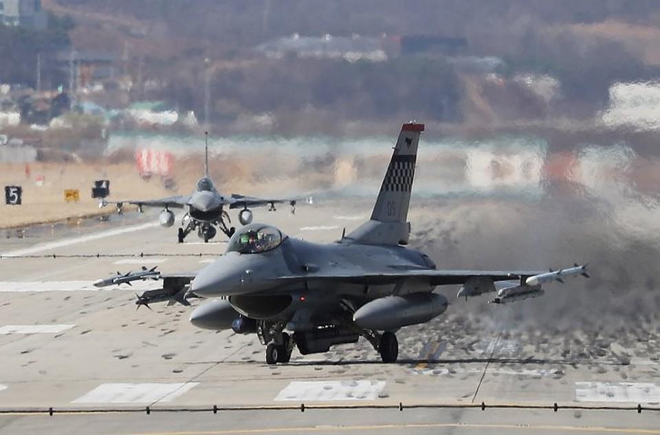 ВНеваде разбился истребитель F-16