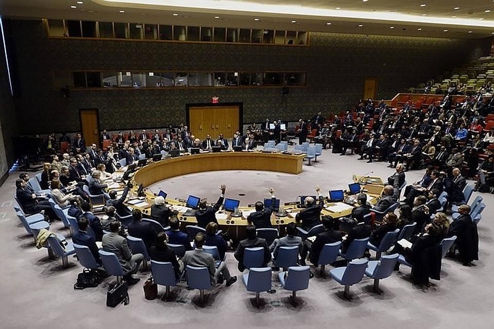 Совбез ООН непринял предложения Российской Федерации поСирии