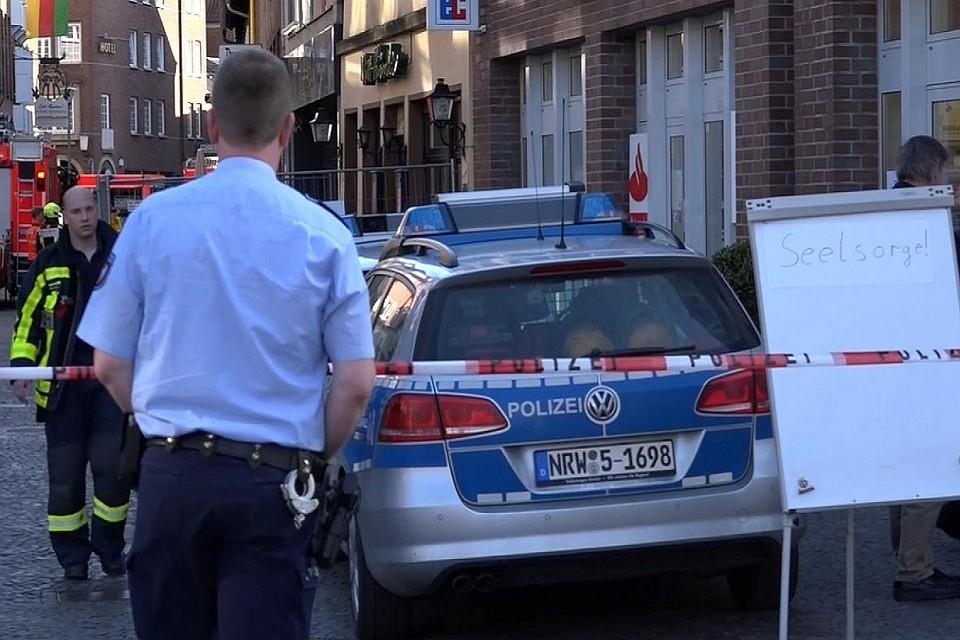 При обыске квартиры водителя изМюнстера найдены детали бомбы
