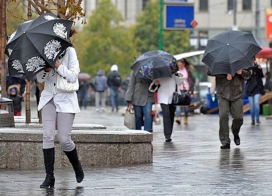В столицеРФ ввоскресенье вновь объявили экстренное предупреждение из-за непогоды