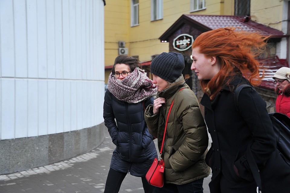 Температура воздуха в российской столице была насемь градусов ниже нормы ввоскресенье