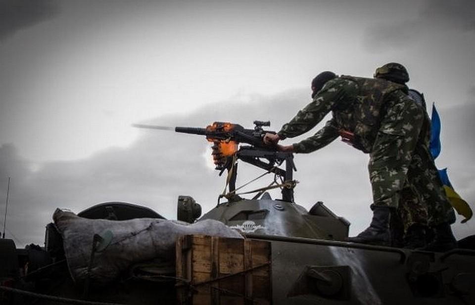 Территория ЛНР подверглась 7-ми  обстрелам ВСУ засутки