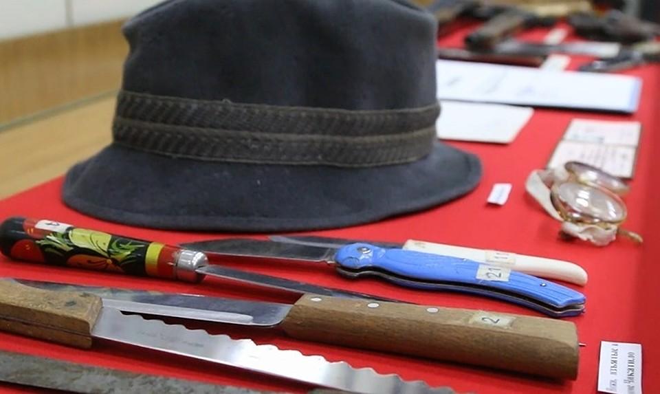 Ролик сличными вещами Чикатило обнародовала милиция Ростова