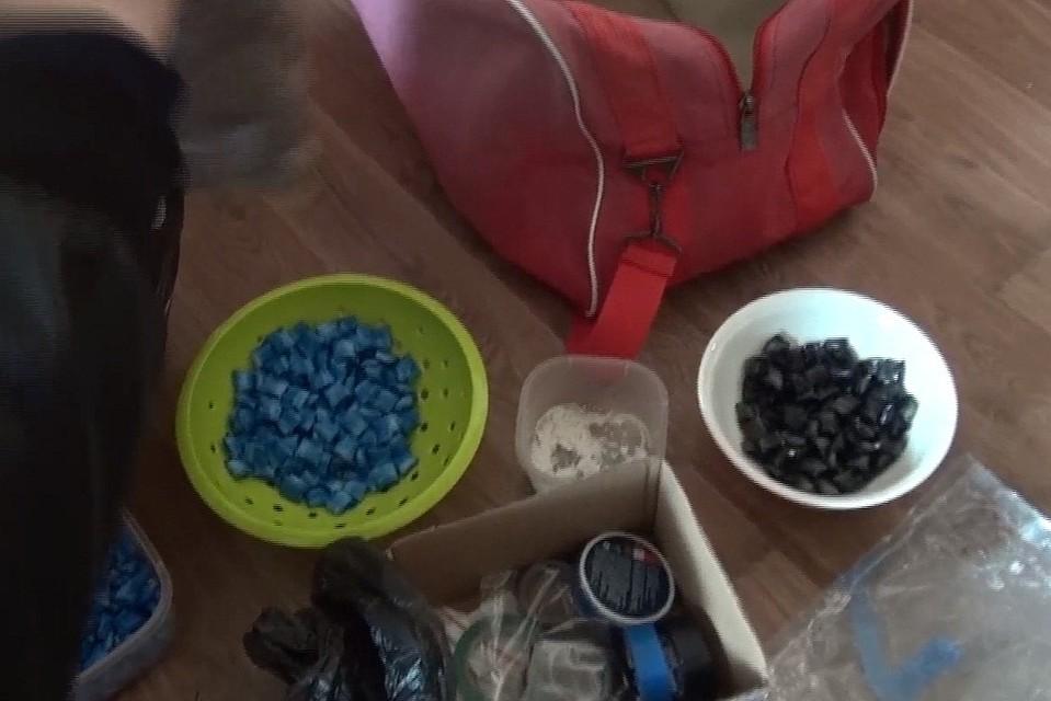 Полицейские изъяли учитинца практически 1кг«синтетики» вКраснодаре