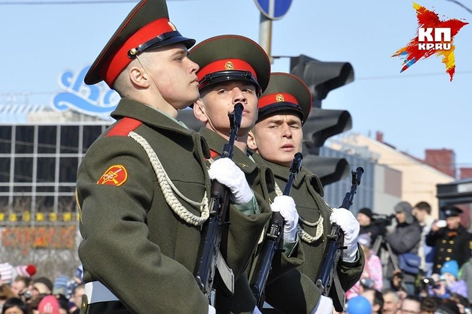 Центр Мурманска перекрыт для проведения репетиции парада