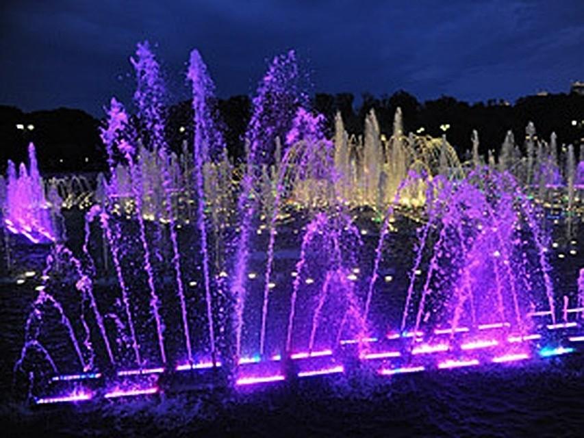 В столицеРФ открыли 5 новых фонтанов