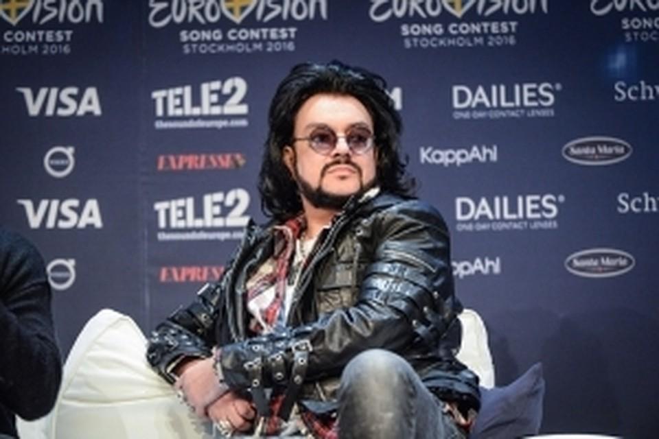 Киркоров объявил, что больше не будет участником «Евровидения»