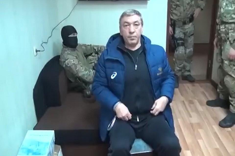 Продление ареста врио премьера Дагестана Гамидова признано легитимным
