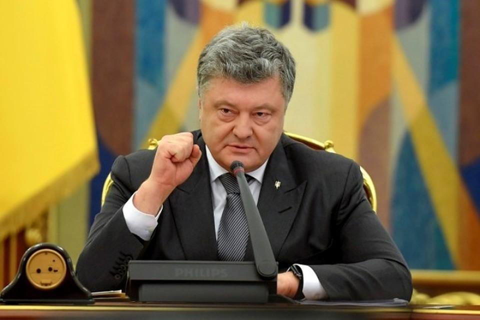Порошенко раскрыл планы Украины наКрымский мост