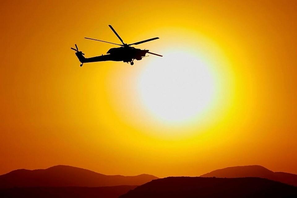 ВБолгарии упал военный вертолет, есть жертвы