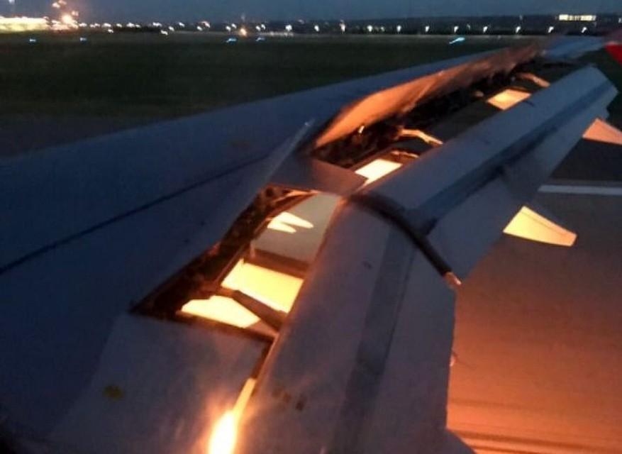 Самолет сборной Саудовской Аравии зажегся ввоздухе