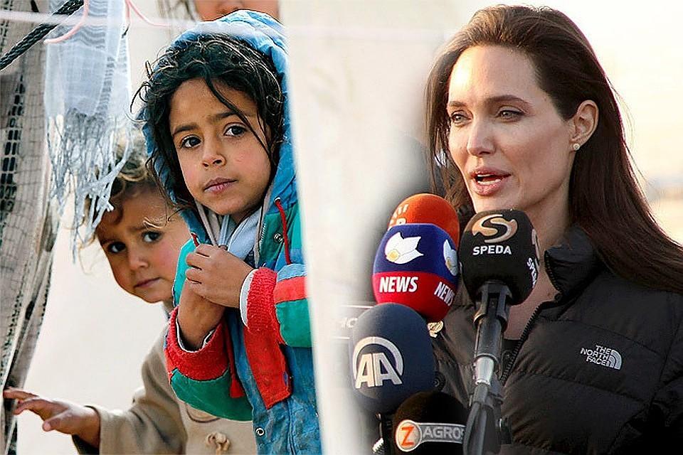 Брэд Питт назвал Джоли лицемеркой, аееблаготворительные поездки пиаром