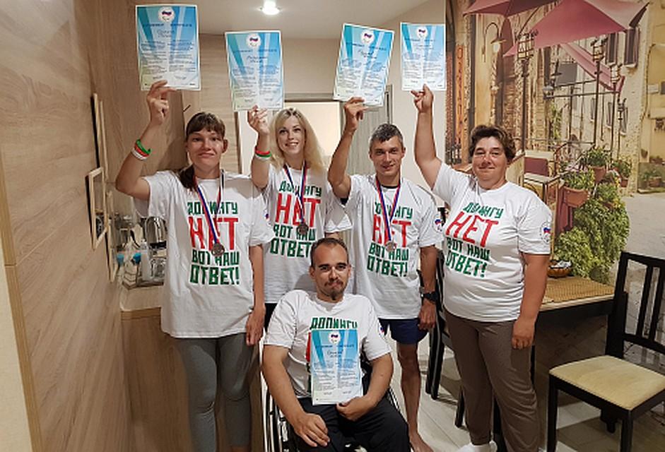 Тверские параспортсмены стали призерами чемпионата Российской Федерации полегкой атлетике
