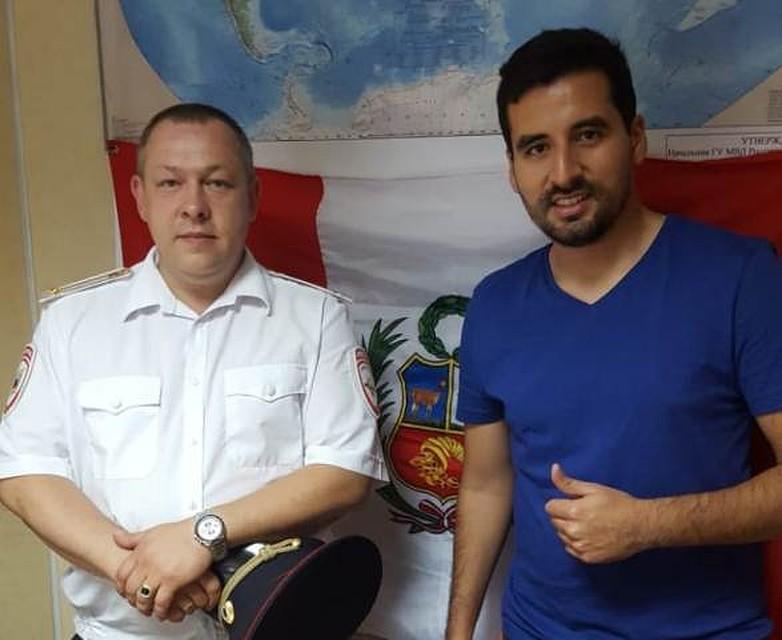 Сочинские полицейские помогли уругвайским корреспондентам вернуть потерянное оборудование