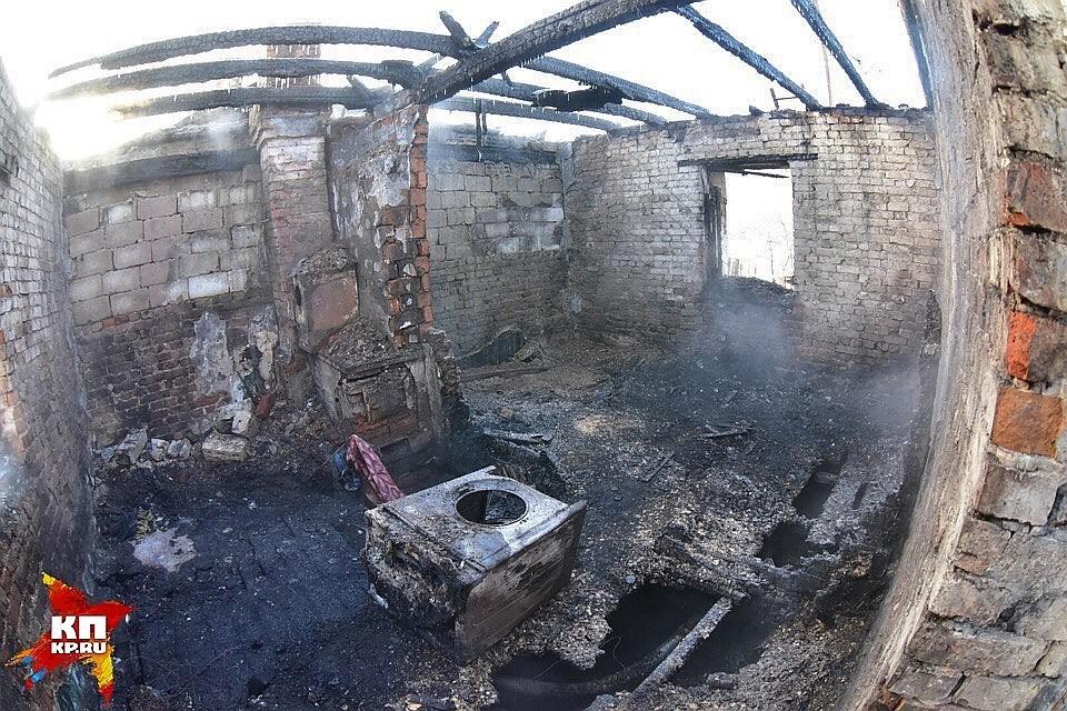 Двое детей иихотец погибли впламени под Новосибирском