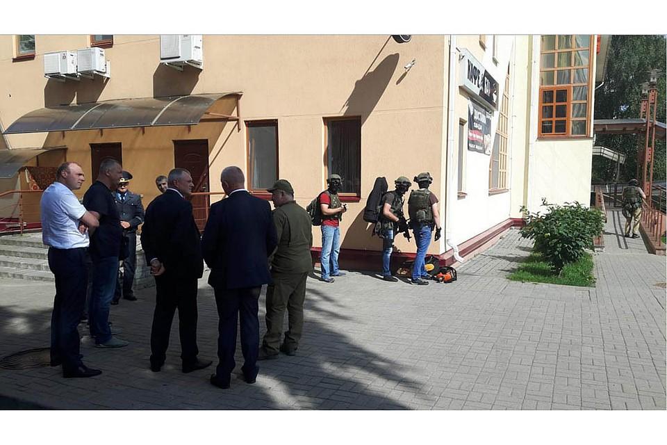 Захват заложницы вбанке Заславля: уголовник  ликвидирован