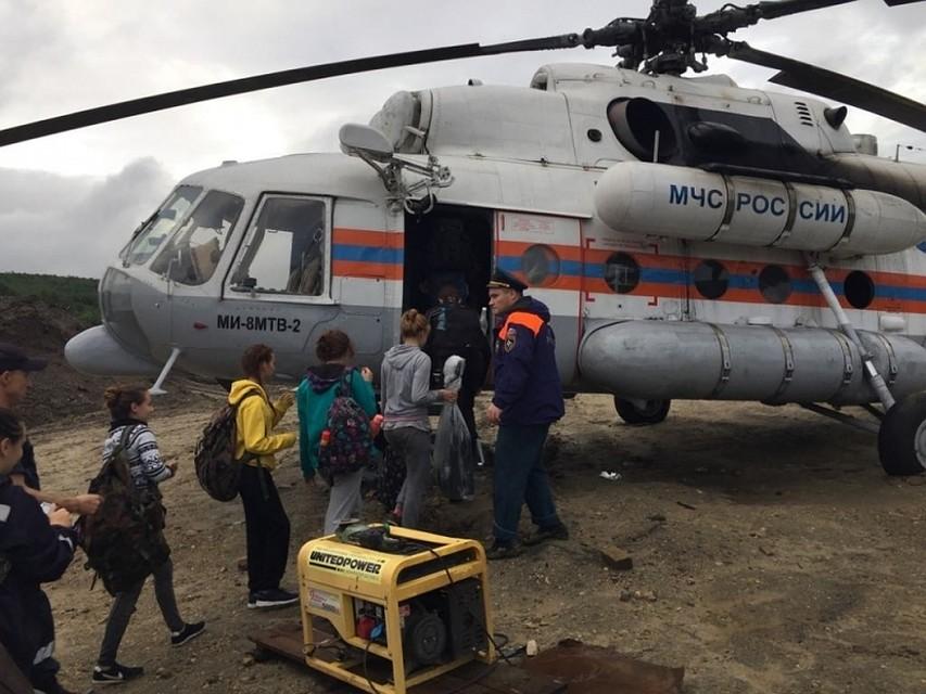 Туристы застряли вгорном приюте Приамурья из-за разлива реки