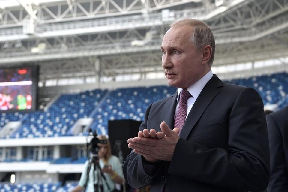 Путин рассмотрит вопрос опродаже пива на русских стадионах