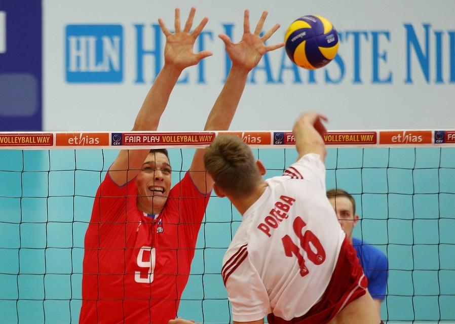 Русские волейболисты выиграли чемпионат Европы U-20