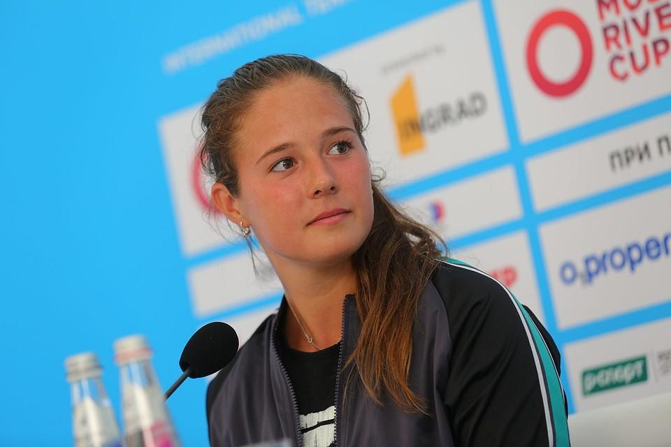 Дарья Касаткина вышла во 2-ой круг турнира Moscow River Cup