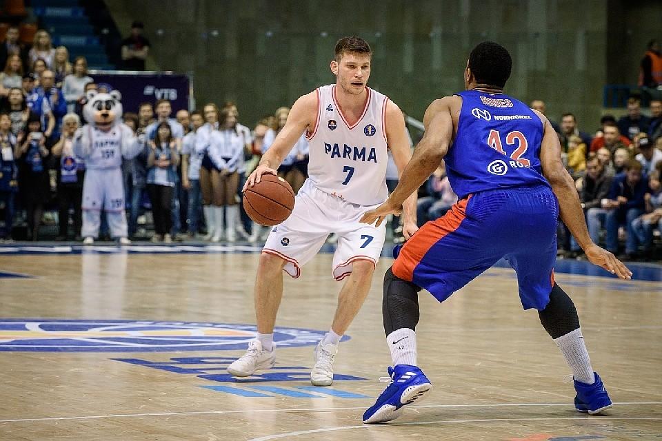 Баскетболист Ухов перешёл из«Пармы» вЦСКА