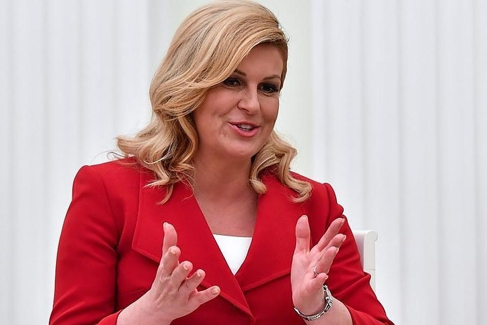 Президент Хорватии поделилась результатами встречи сПутиным