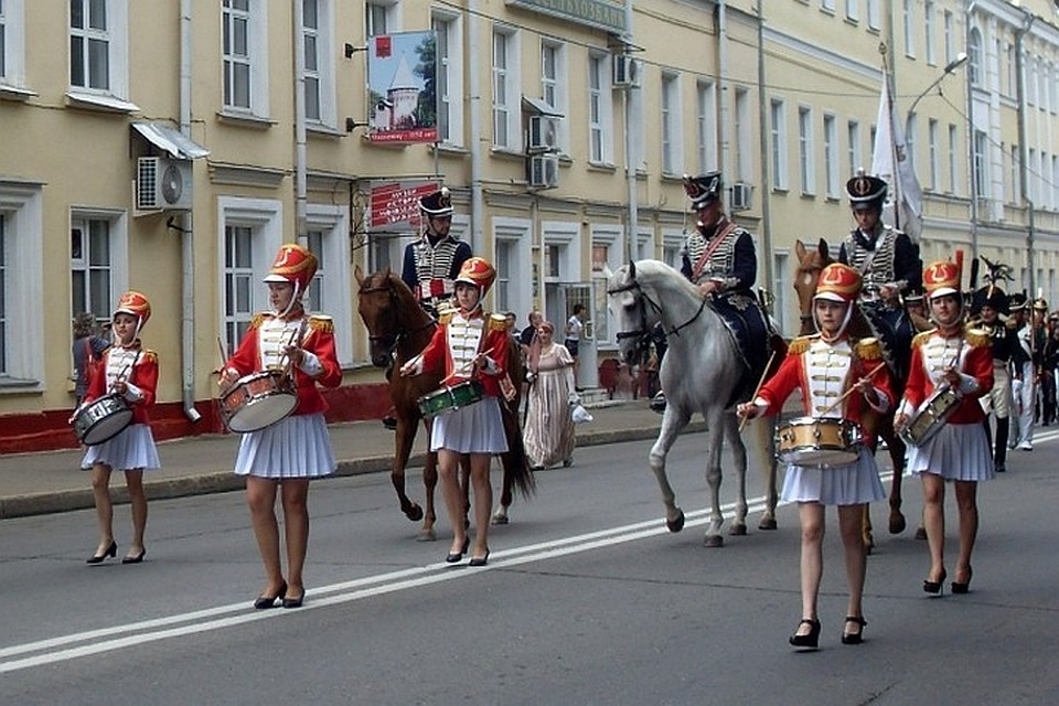 Марш-парад реконструкторов состоится вСмоленске