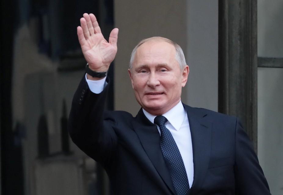 Владимира Путина  проверили наметаллоискателе