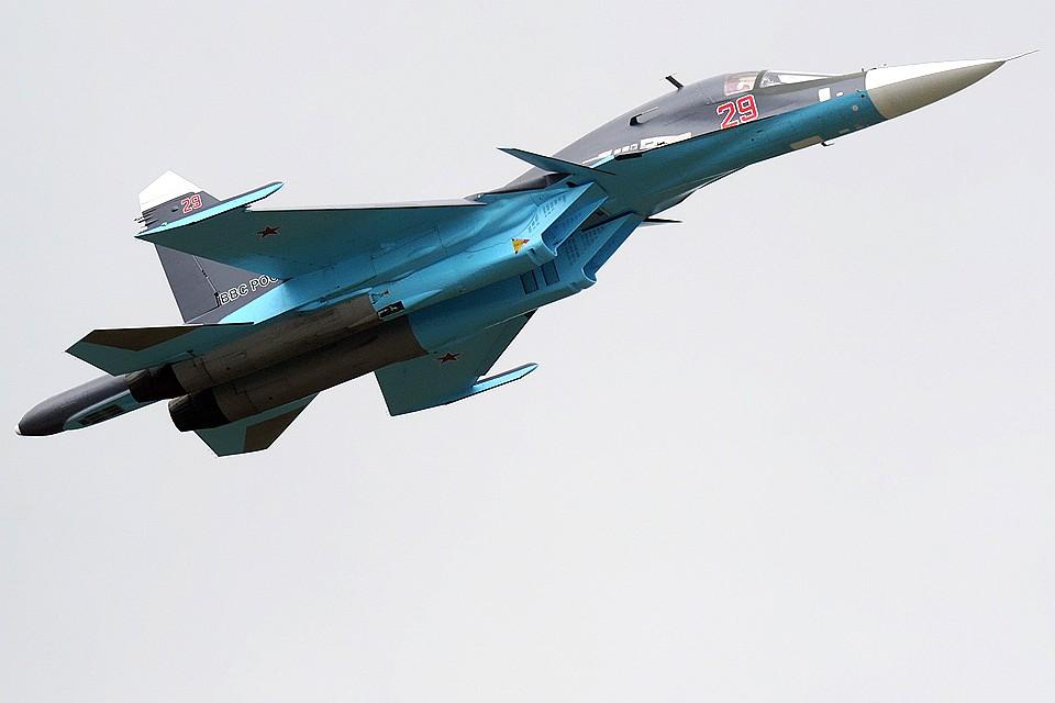 Два Су-34 столкнулись вдальневосточном небе