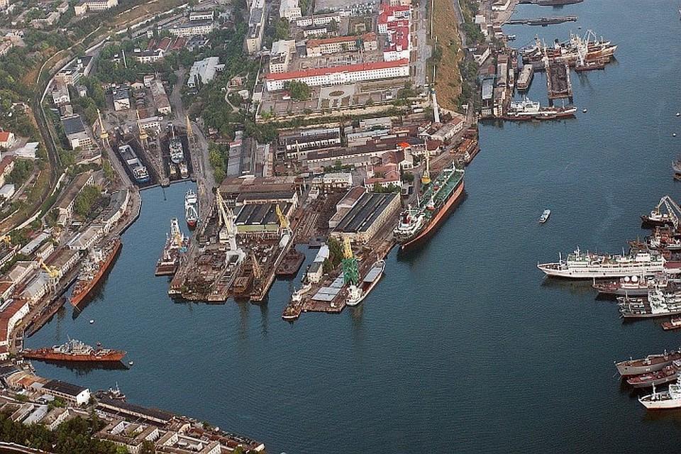 Все изменяется. прежний завод Порошенко станет ремонтной платформой Черноморского флота