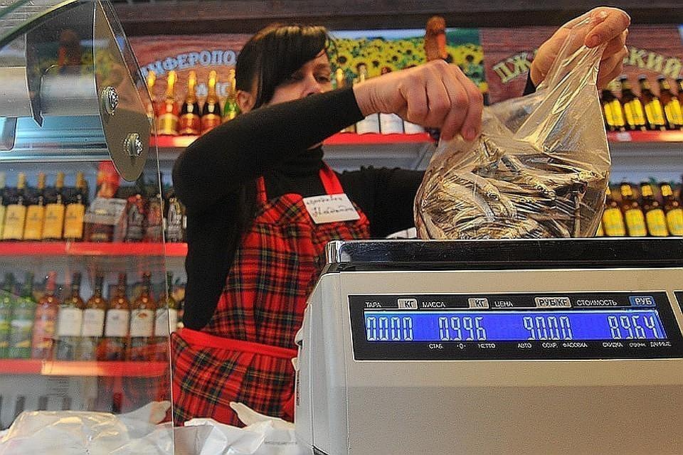 На большинство продуктов ценники в России оказались ниже