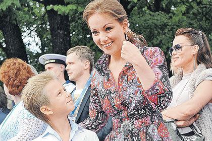 Ольга кабо с супругом николаем и сыном витей