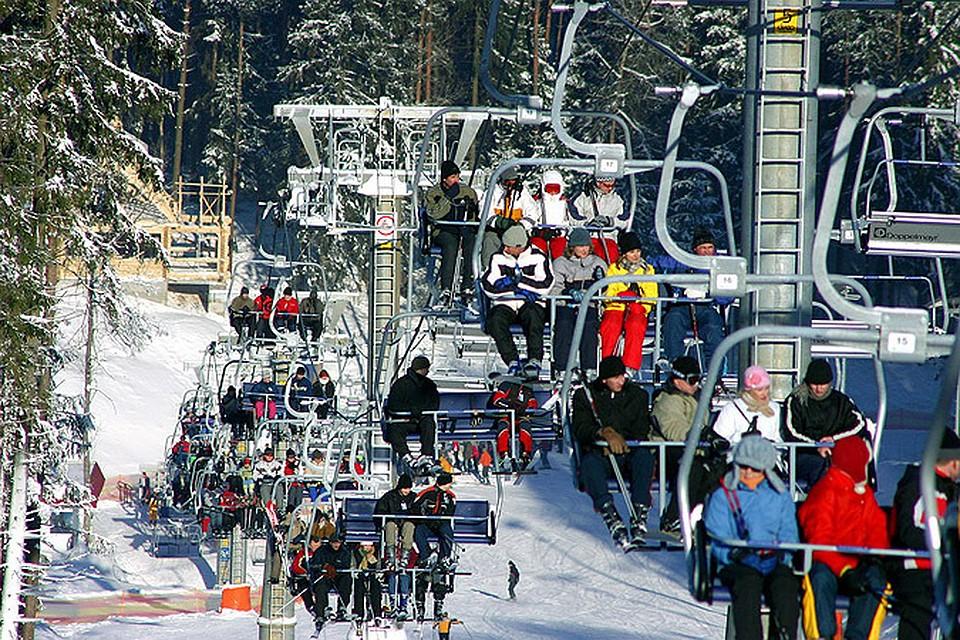 Отдых на новый год в белоруссии на лыжах