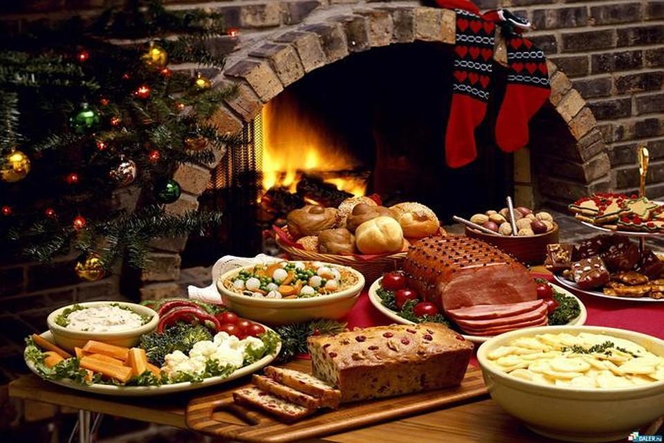 Какие блюда нужно поставить на рождественский стол?