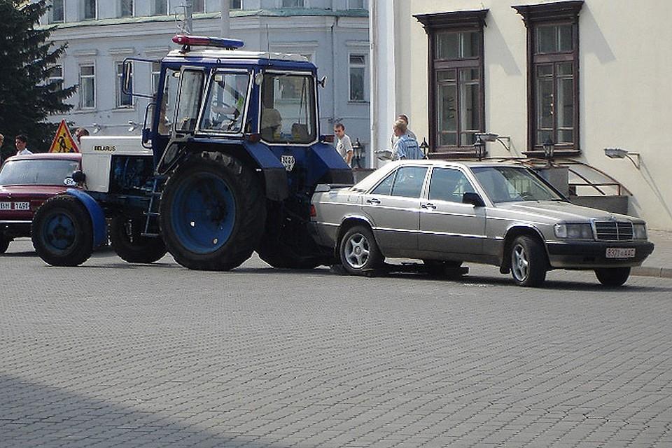 припарковал машину под знаком инвалид