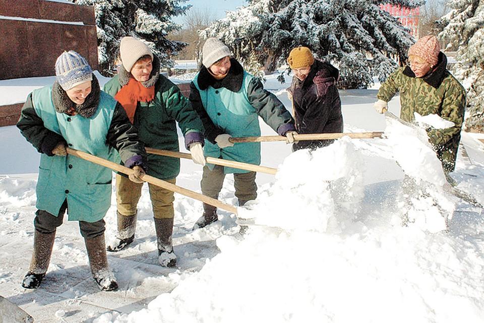 Если вы не сможете определиться с выбором, снег, возможно, придется убирать самостоятельно.